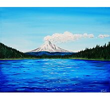 Trillium Lake Photographic Print