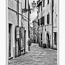 Bolsena Walk  Italy by Warren. A. Williams