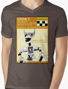 Crow T. Robot Owners Manual  Mens V-Neck T-Shirt