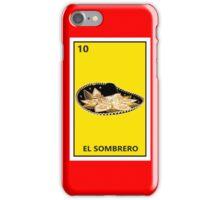 El Sombrero iPhone Case/Skin