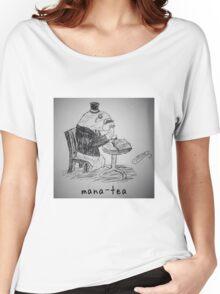 "PUN COMIC - ""MANA-TEA"" Women's Relaxed Fit T-Shirt"