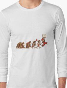~ DK To Mario Evolution ~ Long Sleeve T-Shirt