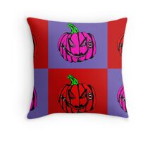 Pumpkins for Drella Throw Pillow