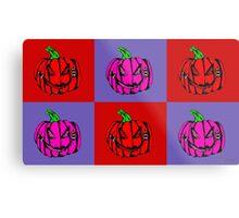 Pumpkins for Drella Metal Print