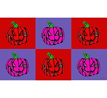 Pumpkins for Drella Photographic Print