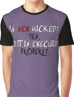 Wicked sex no. 2 Graphic T-Shirt