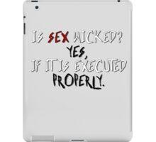 Wicked sex no. 2 iPad Case/Skin