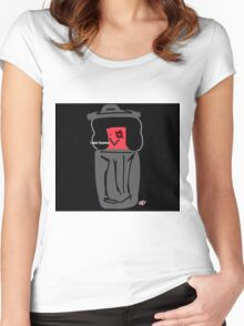 Eyeball is Home Women's Fitted Scoop T-Shirt