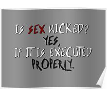 Wicked sex no. 2 Poster