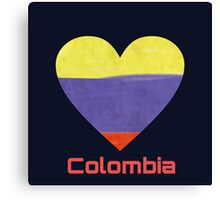 Love Colombia Canvas Print