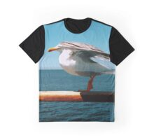While Sailing Graphic T-Shirt