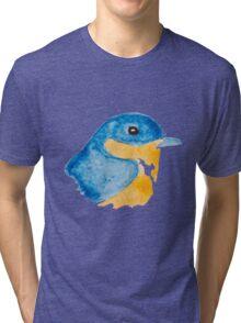 Bluebird Watercolor Tri-blend T-Shirt
