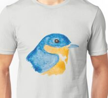 Bluebird Watercolor Unisex T-Shirt
