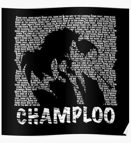 Samurai Champloo - BATTLECRY Poster