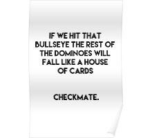 Checkmate - Futurama Poster
