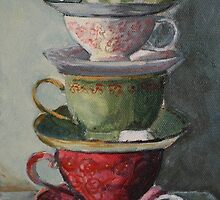 """Tea time"" by Kobie Bosch"