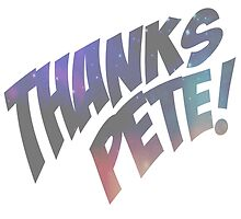 Thank you, Peter. by redboxbluebox