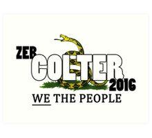 Draft Zeb Colter - 2016 Art Print