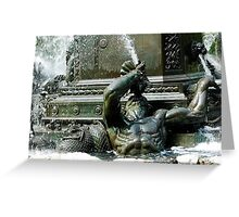 Triton--a Greek God Greeting Card