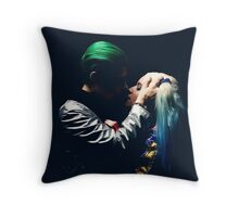 Harley Quinn & The Joker  Throw Pillow