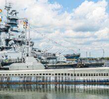 USS Lionfish Submarine SS-298: Battleship Cove Fall River, MA Sticker