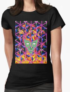 Ego Death Womens Fitted T-Shirt