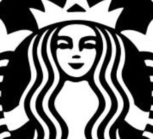 delta gamma starbucks Sticker