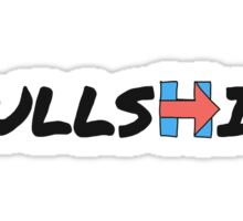 BULLSHILLARY Sticker