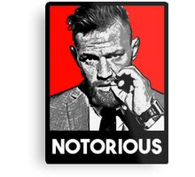 notorious Metal Print