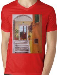 Door To Croatia Mens V-Neck T-Shirt