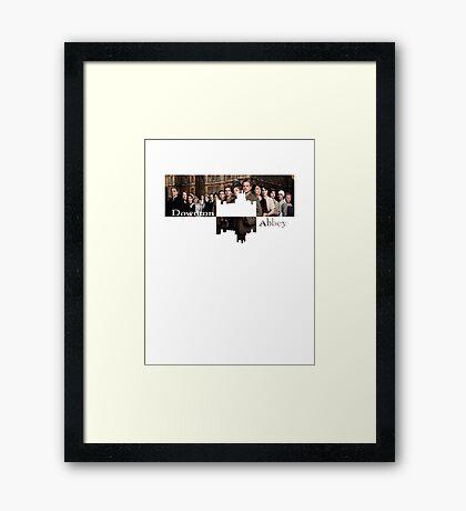 Downton Abbey Framed Print