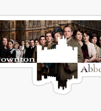 Downton Abbey Sticker