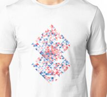 Colorful Triangles Unisex T-Shirt