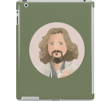 The Dude - The Big Lebowski iPad Case/Skin