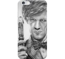 Matt Smith Portrait - 11th Doctor iPhone Case/Skin