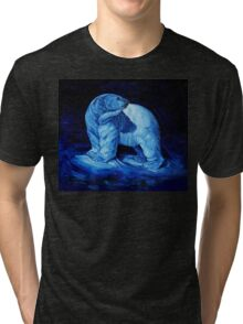 Blue Prince Charming, the Polar Bear  Tri-blend T-Shirt