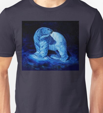 Blue Prince Charming, the Polar Bear  Unisex T-Shirt