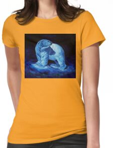 Blue Prince Charming, the Polar Bear  Womens Fitted T-Shirt
