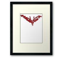 Robin Rises Framed Print