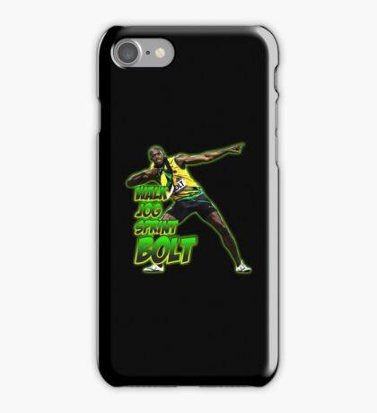 usain bolt iPhone Case/Skin