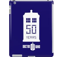 50 years dr who iPad Case/Skin