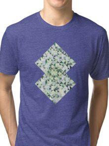 Colorful Triangles II Tri-blend T-Shirt