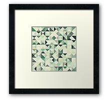 Colorful Triangles II Framed Print