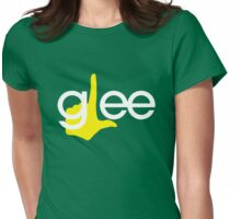 Glee tv Womens Fitted T-Shirt