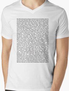 movie script Mens V-Neck T-Shirt