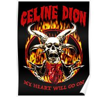 my heart will go on celine dion Poster