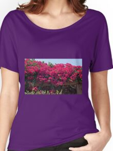 Flowers and a Trellis Women's Relaxed Fit T-Shirt