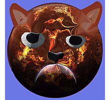 Grumpy Cat Planet Photographic Print