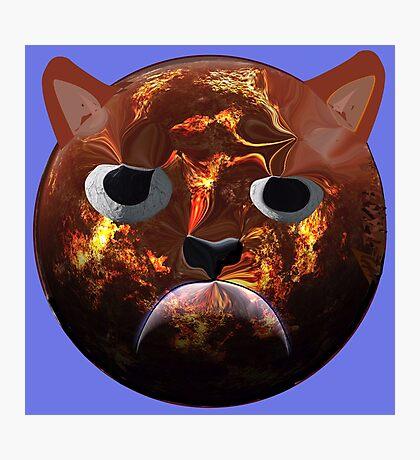 Grumpy Cat Planet Photographic Print
