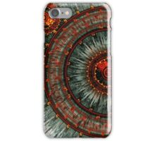 Fiery  clockwork iPhone Case/Skin